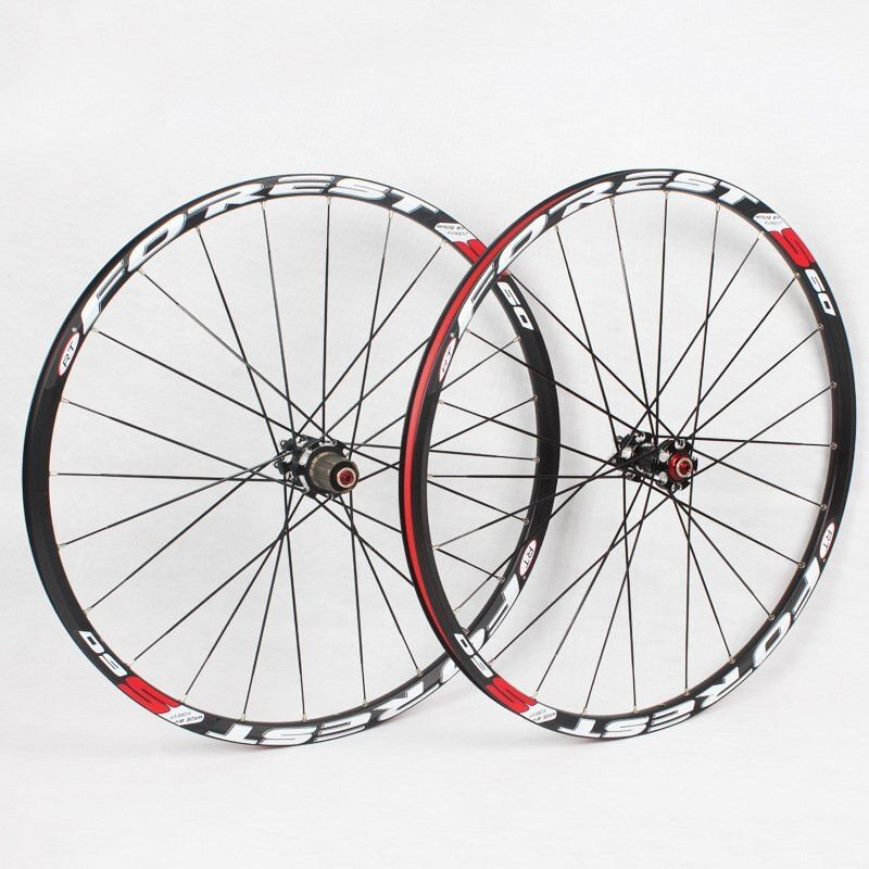 RT S60 5bearing super light straight pull hub bike wheel 26/27.5 bicycle wheelset