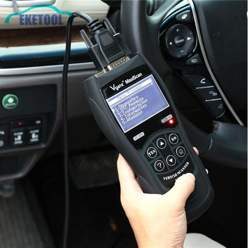 Profssional OBD2 EOBD Diagnostic Tool VS890 MaxiScan Vgate OBD SCAN Multi-Language VS 890 Car Code Reader Free Shipping