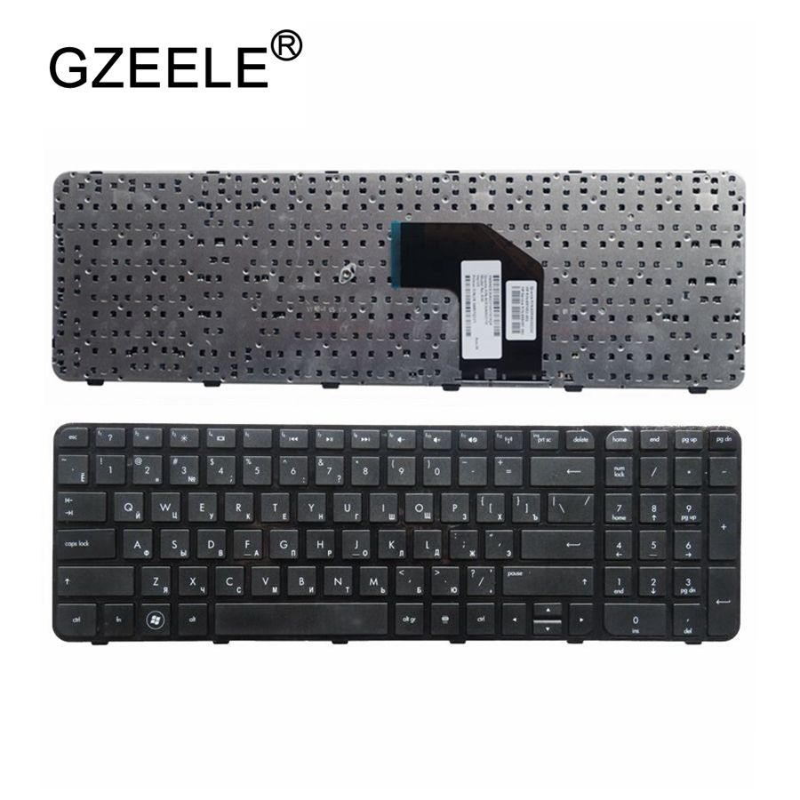 GZEELE Russian Laptop keyboard FOR HP Pavilion G6 G6-2000 G6Z-2000 g6-2100 G6-2163sr AER36Q02310 R36 RU NEW BLACK Frame keyboard