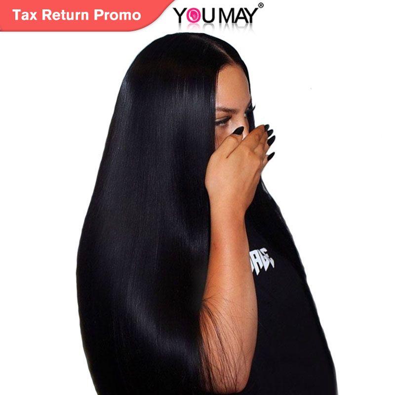 250% densité dentelle avant perruques de cheveux humains pour les femmes naturel noir brésilien droit dentelle avant perruques 13X4 Remy cheveux vous pouvez