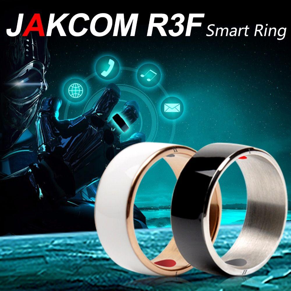 Anneau intelligent Jakcom R3F pour téléphone électronique NFC haute vitesse accessoires intelligents 3-preuve App activé anneau magique de technologie portable