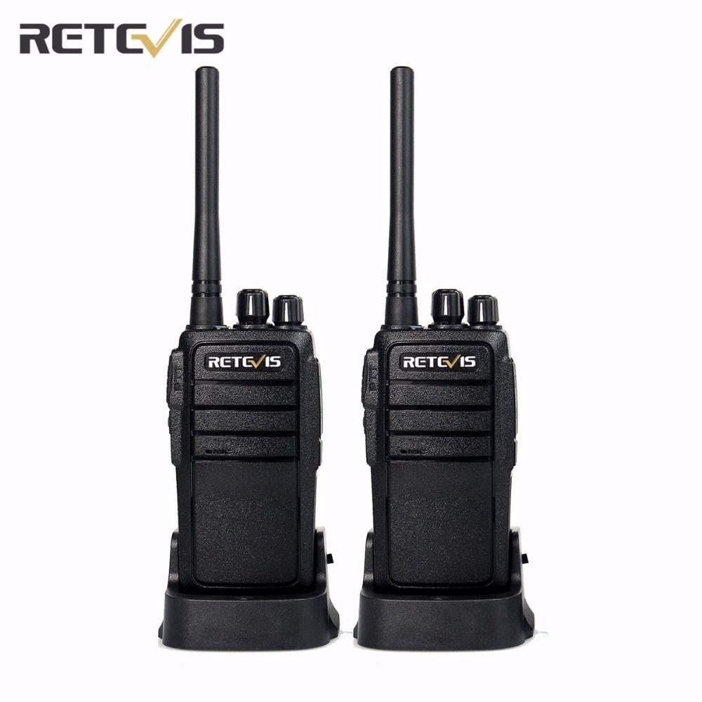Pas cher 2 pcs Retevis RT21 Talkie Walkie UHF 16CH CTCSS/DCS TOT VOX Balayage Scrambler Silencieux 2.5 w Pratique cb Radio Comunicador A9118A
