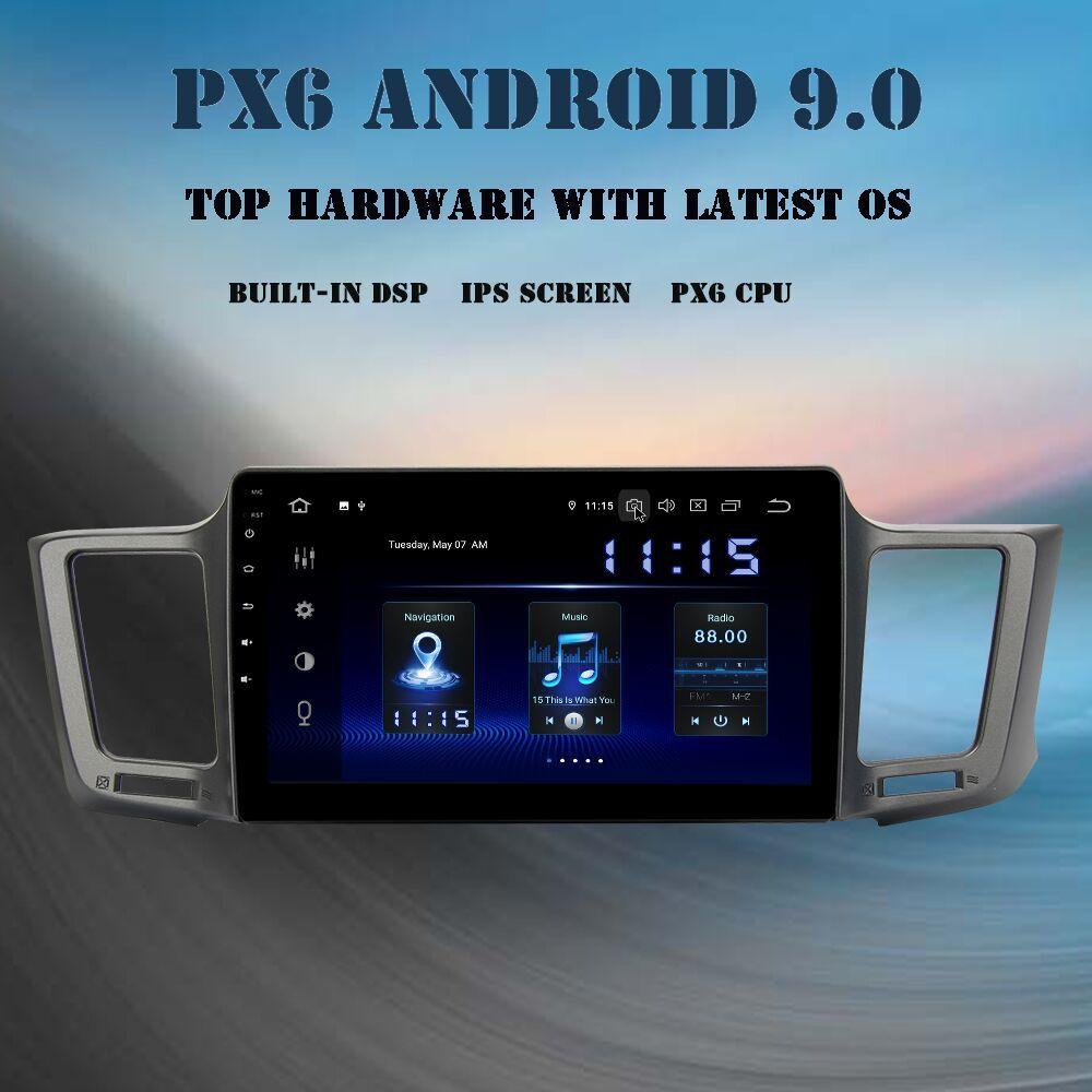 10,2 ips Android 9.0 Auto multimedia-player Für Toyota RAV4 2013-2017 Rav 4 Kopf Einheit eingebaute GPS DSP HDMI autoradio 4Gb + 64GB
