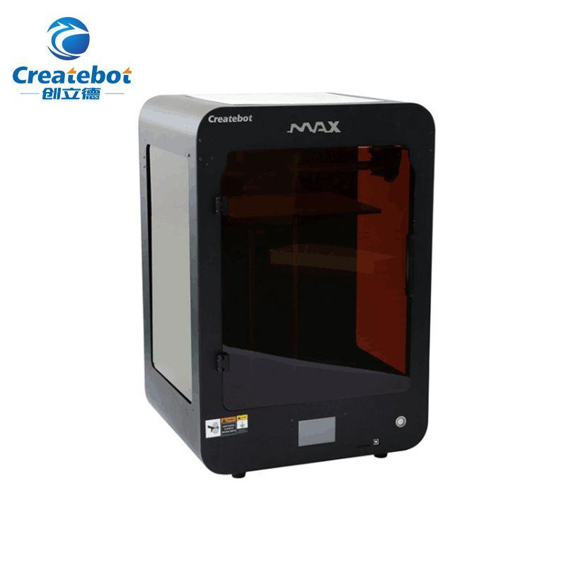 Neue Createbot Max Drucker Touchscreen einzigen Extruder Semi-Auto Nivellierung Voll Metall 3D Drucker Kit Gehören Alle 3D drucker Teile