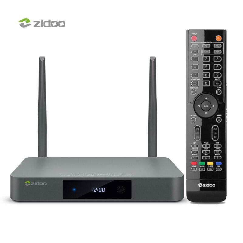 ZIDOO X9S Android TV Box 4k Media Player HDR 10Bit Set Top Box UHD Smart tvbox Dual Band WIFI 2G DDR3 16GB eMMC Android Top Box