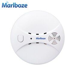 Marlboze Wireless 433mhz Smog Detector Photoelectric Smoke Fire Sensor for Wireless Home Security WIFI GSM Alarm System