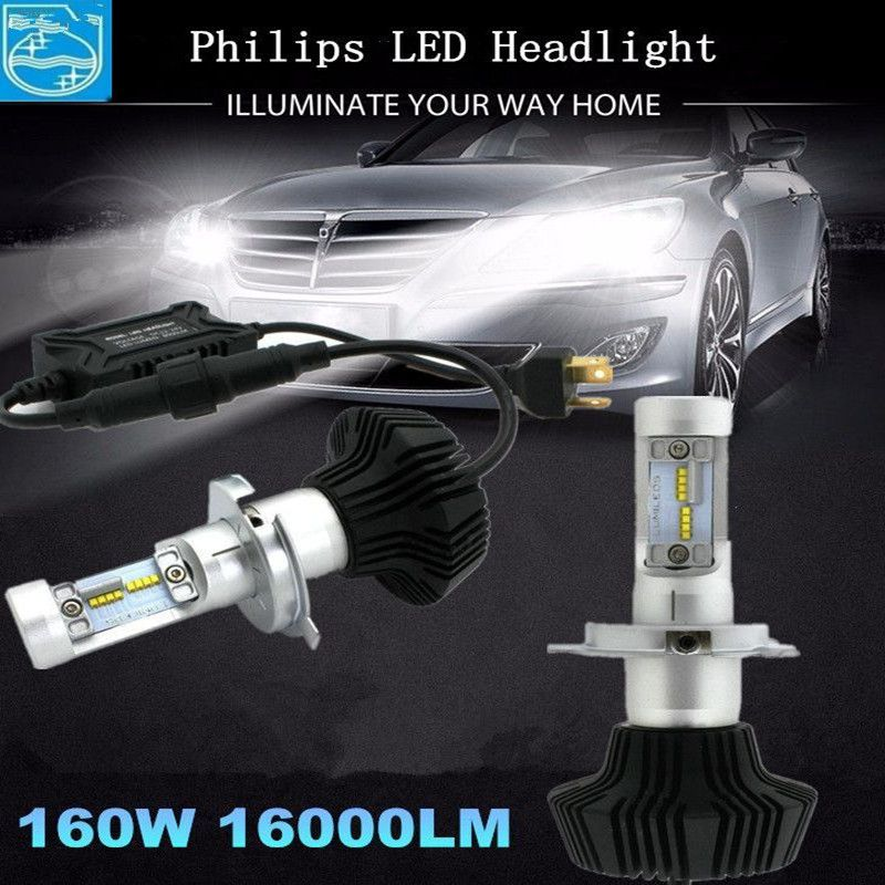 G7 H1 H3 H4 H7 H11 9005 9006 881 LUMILEDS H4 Hi/Lo Beam Car LED Bulb DRL Fog Light 6000K Used Car Led Headlight Kits LUXEON ZES