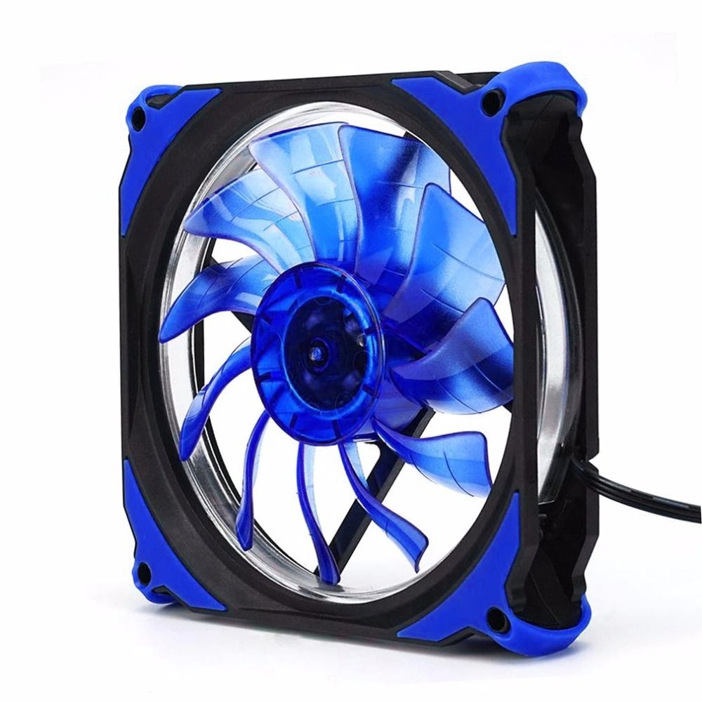 Eclipse 120mm LED Stumm Kühlung Kühler Desktop Computer Gehäuselüfter Weniger Lärm Lüfter Leiser Lüfter Für Desktop-Computer