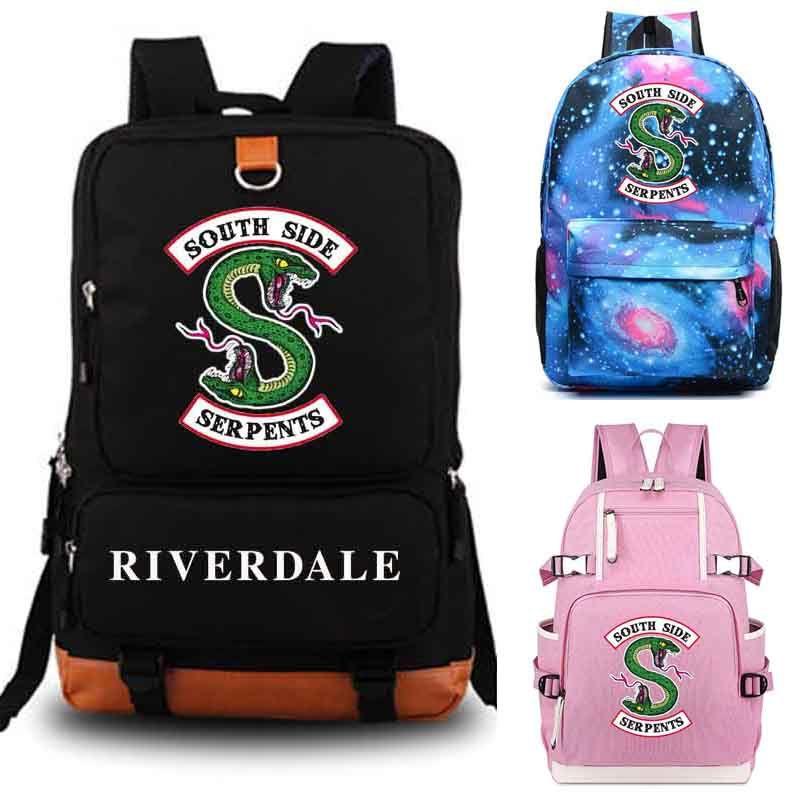 Riverdale backpack student school bag Daily backpack student Rucksack Notebook backpack