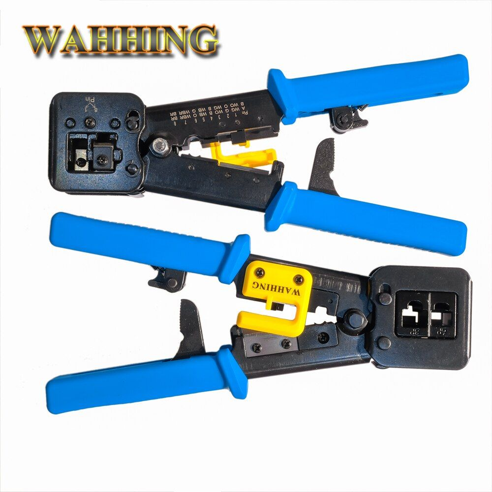 GreatDeal Networking-Tools RJ45 RJ11 Crimpen Kabel Stripper Crimper EZ RJ45 Drücken Linie Klemmenzange für EZ rj45-stecker