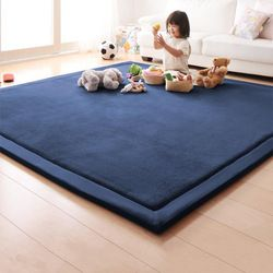2018 Baru Penebalan Karang Bulu Beludru Kasur Unta Putih Tidur Kasur Tatami karpet Spons Tikar