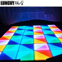 432*10 ملليمتر الزفاف حزب أرضية صالة رقص مزودة بمصابيح LED/المحمولة Led RGB المهنية الصوت الرقص الطابق للبيع