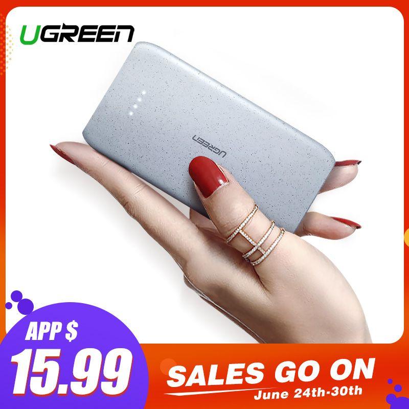 Ugreen Power Bank 20000mAh Portable Charging External Poverbank for Xiaomi Mi 8 Mobile Phone Battery Charger Powerbank 20000mAh