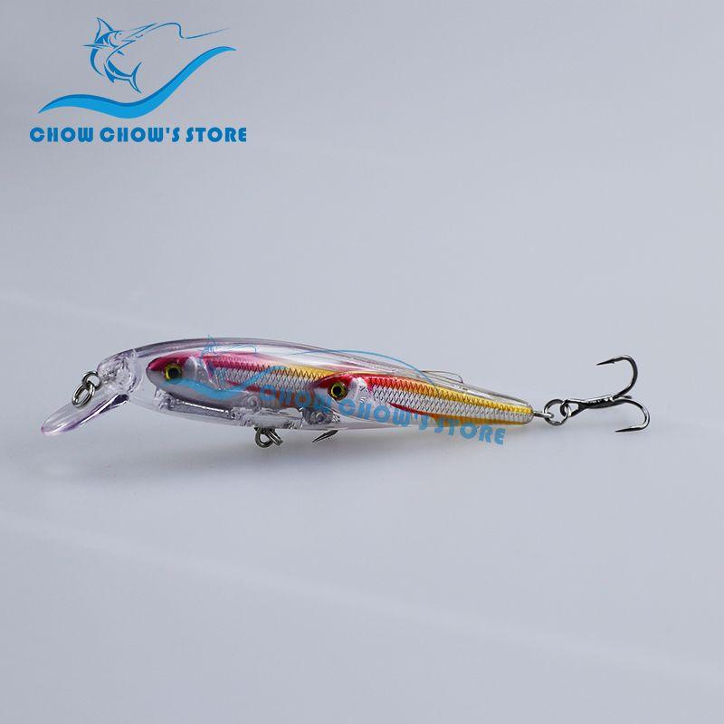 Nouveauté!!! 1 PC, 5 couleurs au choix! Leurre de pêche méné appâts méné japon leurre camarao artificiel Pesca leurre 9 cm 12g