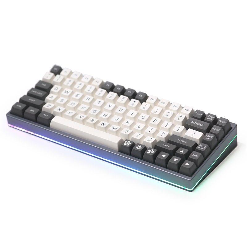 Kbdfans KBD75v2 clavier personnalisé kit de bricolage clavier mécanique boîtier alu