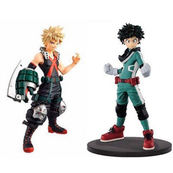 Anime My Hero Academia Boku no Hero Akademia PVC Action Figure Stand Model Toys gift