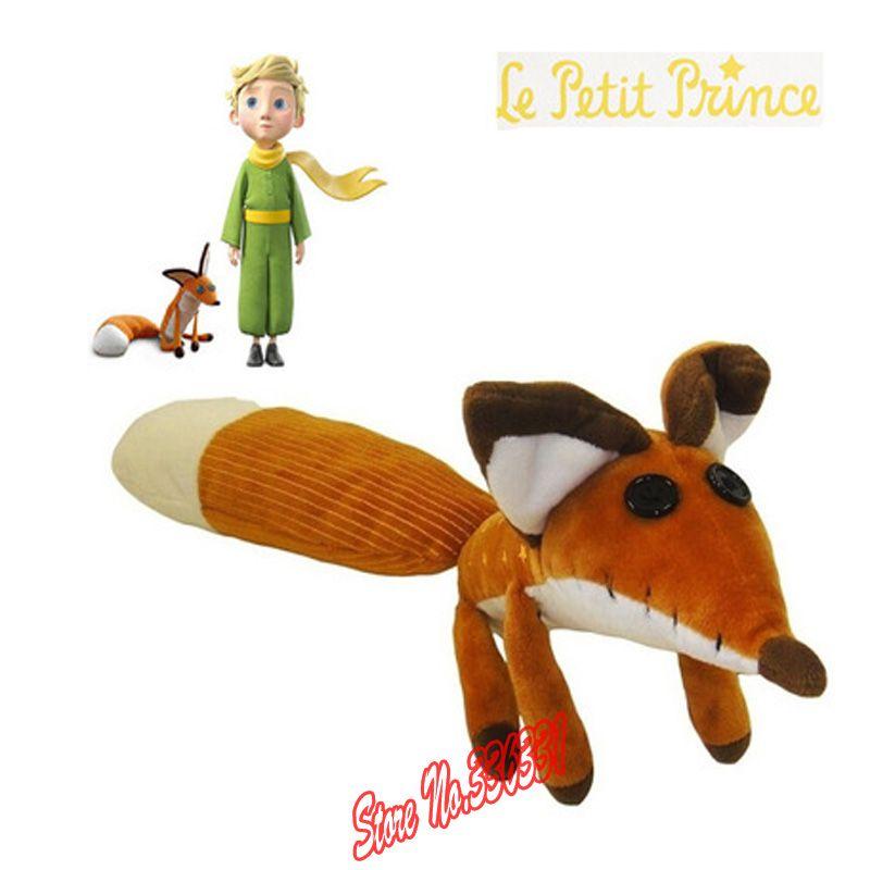 Vente chaude 1 pcs le petit Prince poupées en peluche, 50 cm le petit Prince le renard en peluche animaux en peluche jouets éducatifs pour bébé