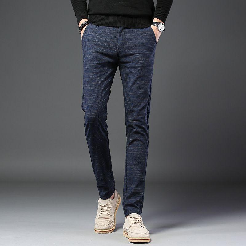 2019 sommer männer Casual Baumwolle Hohe Qualität Hosen Mode Lange Hosen