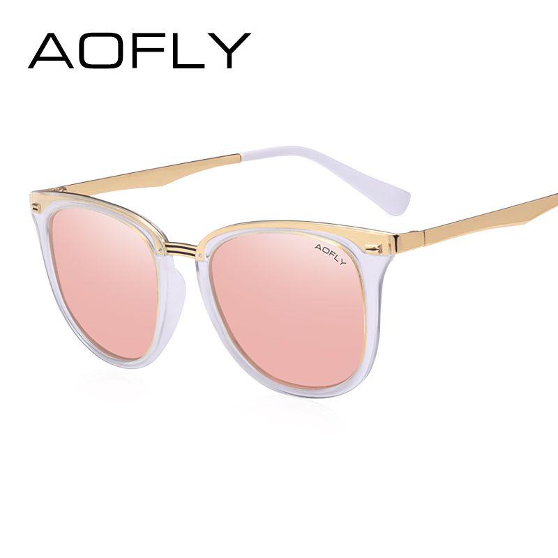 AOFLY Fashion Women's Polarized Sunglasses Vintage  Women Brand Designer Shades Eyewear Accessories Driving Sun Glasses AF7968