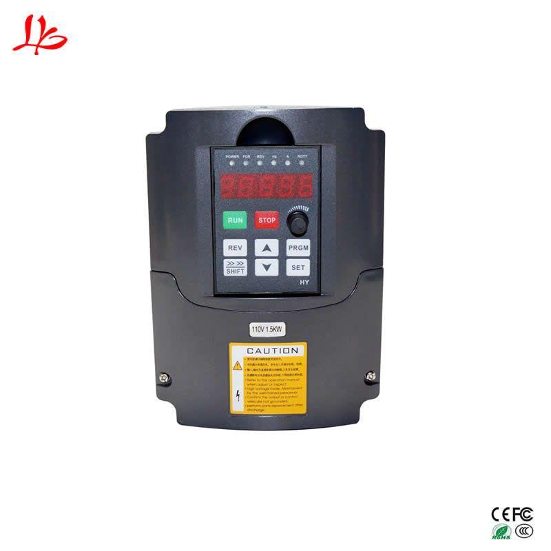 Variabler Frequenz VFD Inverter Ausgang 3 phase VFD spindel 1.5KW CNC Spindel motor speed control inverter für motor