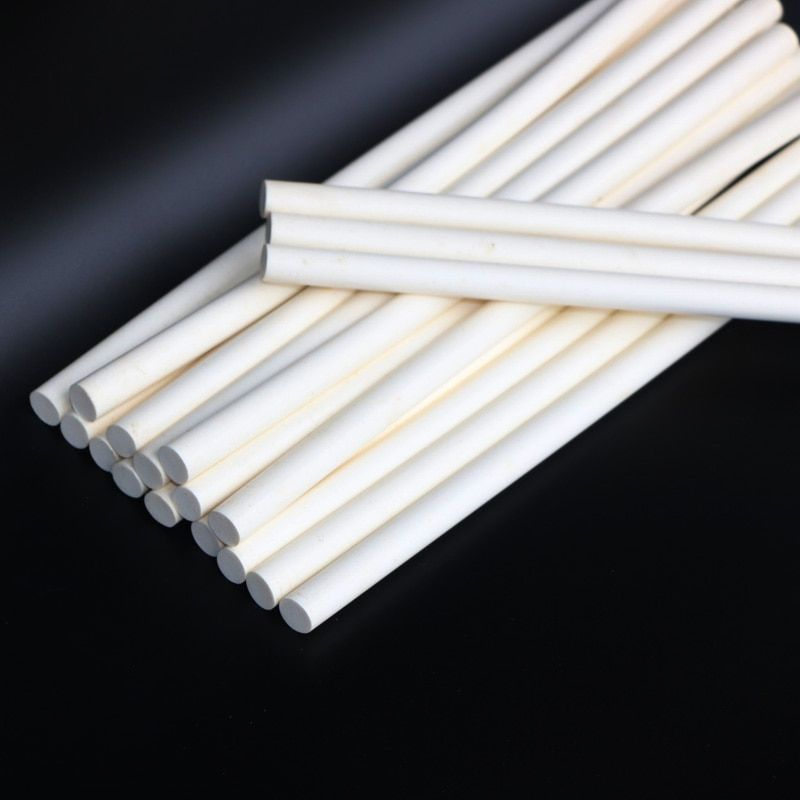 11x300mm Laiteux Blanc Thermofusible Bâton de Colle 10 pcs Thermostabilité 150 Degrés pour 11mm Pistolet À Colle adhension Outils, 10 pcs/lot