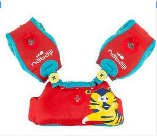Kinder Aufblasbare VeBaby Lernen schwimmen Ausrüstung Swim Schwimm Baby Ring Schwimmwesten + Arm Kreis Ärmeln Kombination