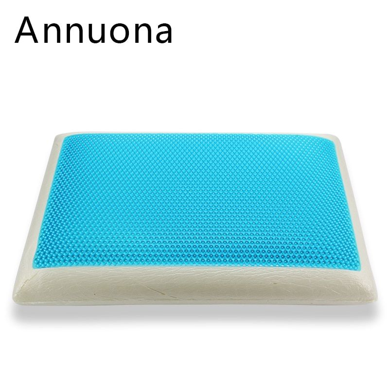 Gel Memory Pillow and Neck pillow Constant temperature Zero pressure Treatment of insomnia and more dreams snoring