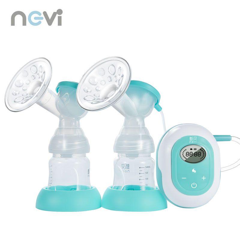 Ncvi Neue Große Saug-Doppel Elektrische Brust Pumpe Baby Fütterung BPA FREI Brust Milch Pumpe Freies Verschiffen XB-8617-II