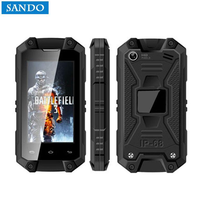 XENO MINI J5 Cep Telefonu IP65 Su Ge irmez 3G Smartphone MT6580 Quad Core 2.4 In Ekran 1 GB RAM 8 GB ROM Android 5.1 Z18 J6 J5