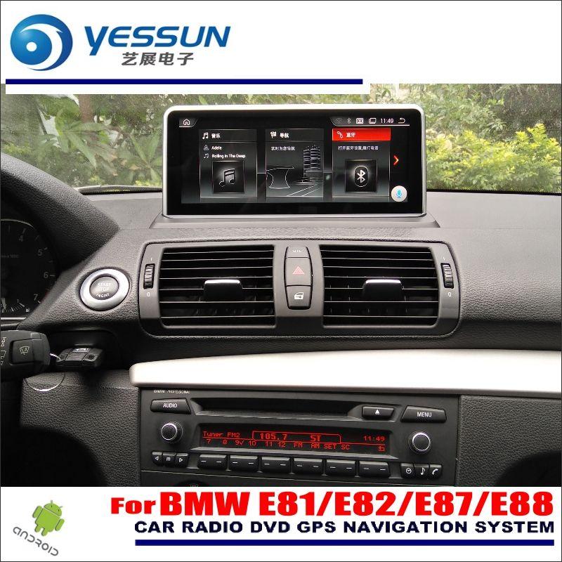 YESSUN 10 zoll HD Bildschirm Für BMW 1 E81/E82/E87/E88 2005 ~ 2012 Auto android Stereo Audio Video Player GPS Navigation Media Keine DVD