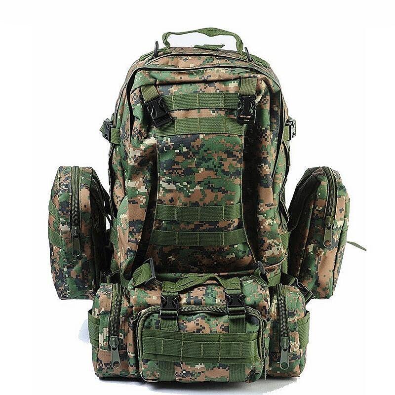 High Quality 50L Large Capacity Bagpack Molle Military Backpack Multifunctional Waterproof Men Backpack Rucksack Bag For Travel