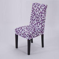 Printing Zebra Peregangan Kursi Penutup kursi Elastis kursi mencakup untuk pesta Makan Restoran hotel Natal hadiah dekorasi rumah