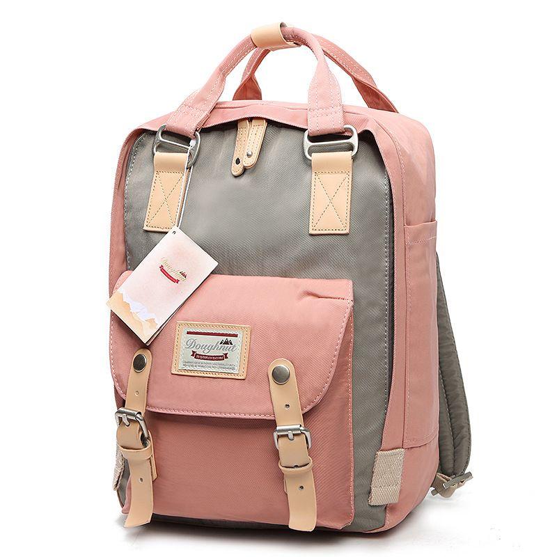 LUYO Cute Oxford Women Backpacks For Teenage Girls Mommy Computer Travel Luggage Laptop Fashion Backpack Bagpack Mochilas Kanken