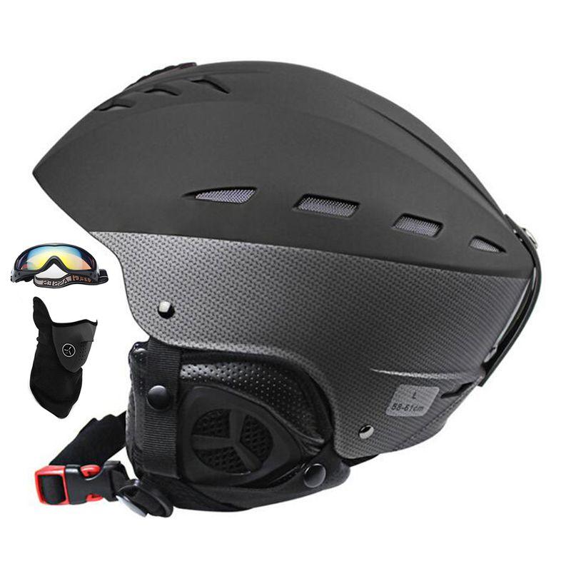 Для мужчин или Для женщин лыж шлем сверхлегкий Лыжный Спорт шлем CE Сертификация ABS + EPS снег скейтборд горнолыжный шлем сноуборд 55- 61 см