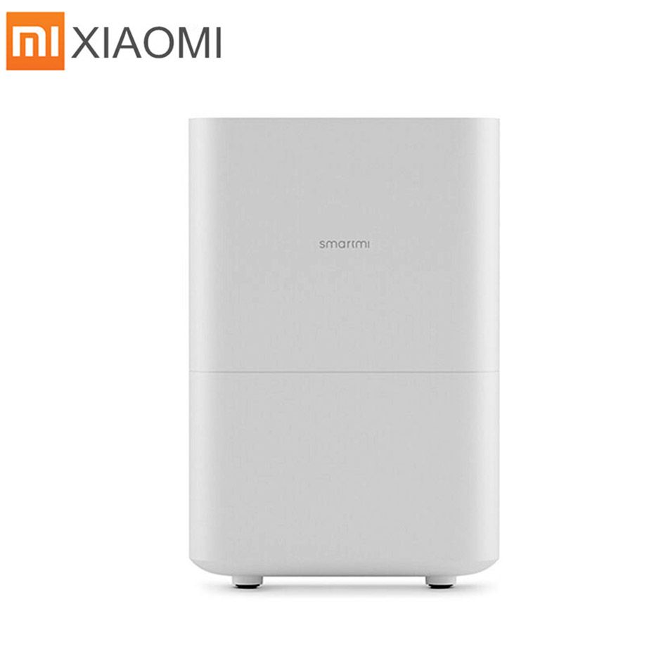 Xiaomi Air Humidifier Smog-free Mist-free Pure Evaporate Type Increase Natural Air Humidity Smartmi Mute Humidifier App Control