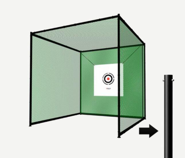 Ganze set 3*3*3 m Golf Praxis Net Professional Golf Käfig Golf Trainer