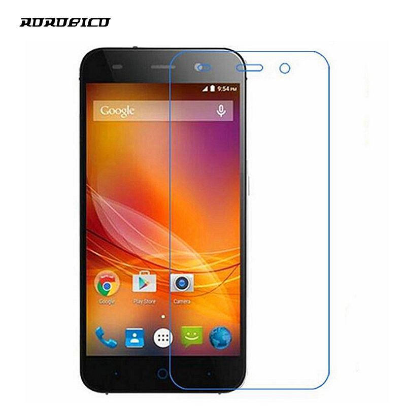 ROROBICO 0.26mm 2.5D Front Explosionproof Tempered Glass Film For ZTE Blade V6 LCD High Clear Screen Protector For ZTE Blade D6