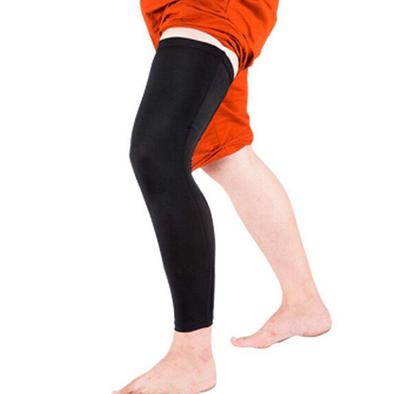 1 пара Баскетбол Велоспорт Для мужчин Для женщин Гетры для девочек эластичный стрейч высокого Носки для девочек узкие Чулки для женщин спор...