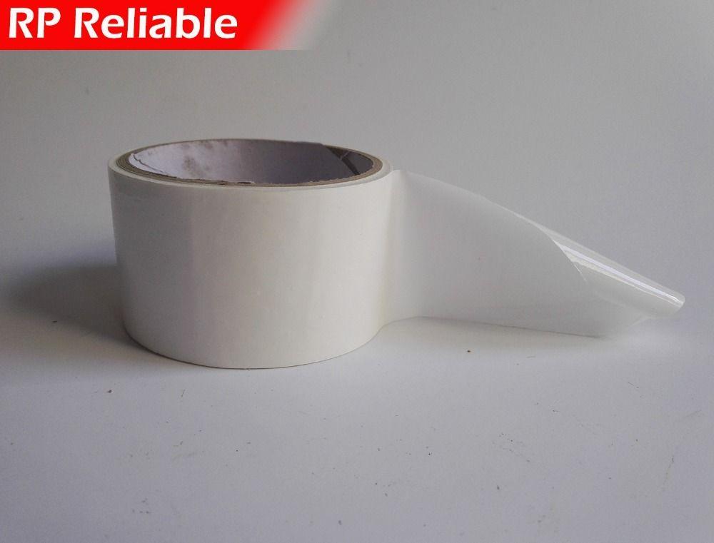 120mm de ancho, 100 metros, blanco Adhesivo De Alta PE Película Protectora para Marco de Puerta De Aluminio Y Ventanas de Superficie Lisa Proteger Adhesiva,