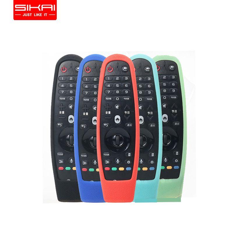 SIKAI 2017 En silicone souple étui pour LG Smart TV boîtier de télécommande Peau De Protection Pour LG AN-MR600 Smart TV Télécommande Couverture