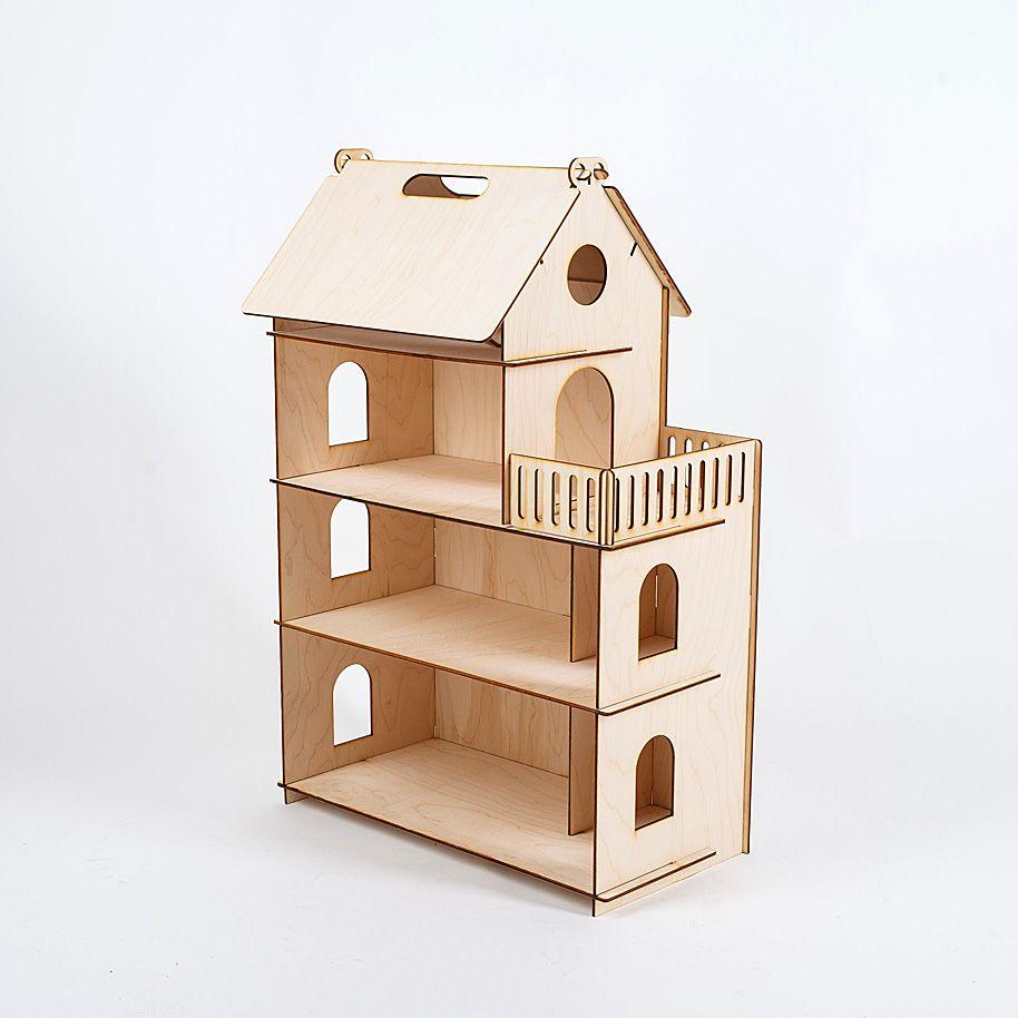 Puppe Haus Möbel Diy Miniatur 3D Holz Miniaturas Puppenhaus Spielzeug für Kinder Geburtstag Geschenke Casa Kätzchen Tagebuch lol 000- 674