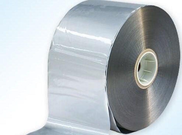 50 kg (2-3 kg/rolle) 12,5 cm breite Bunte Kunststoff Flim, tee Tasche Verpackung Maschine Poly Tasche Bopp Film Anzug Für Alle Typ Lebensmittel