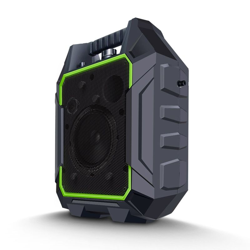 Lesozoh Wireless Portable Stereo Speakers Big Power 60W Output Plastic Bass Loudspeaker Radio TF AUX FM Music Speaker for phone