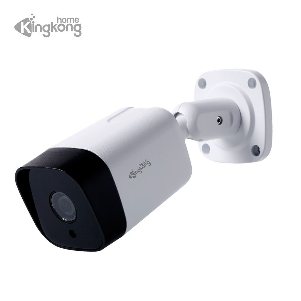 Kingkonghome 1080P 960P 720P Outdoor CCTV Camera 48V POE IP Cam IP67 Waterproof Surveillance IR Bullet Onvif Security cameras