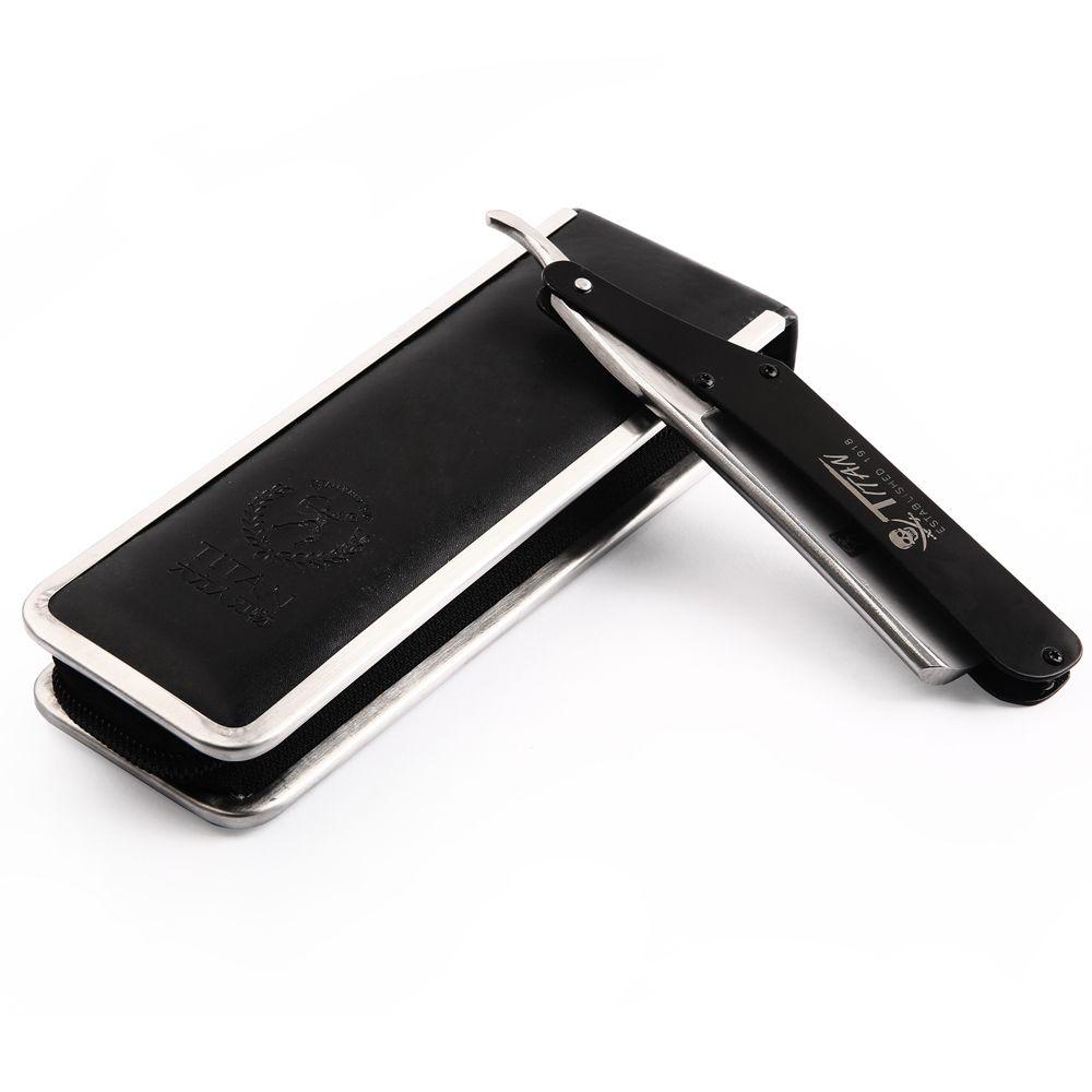 Japan Steel Classic Straight Razor Barber Men Shaving Folding Knife Kapper Salon Razors Titan Manual Shaver Hairdresser