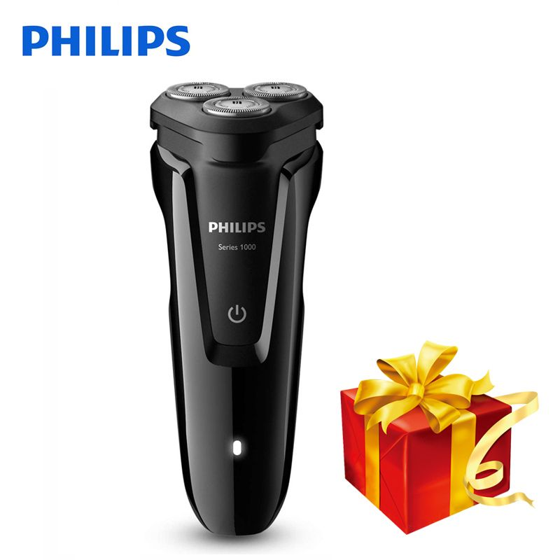 100% Original Philips Electric Shaver S1010 Rotary Rechargeable Washable For Men's Electric Razor Support Charging Indicator