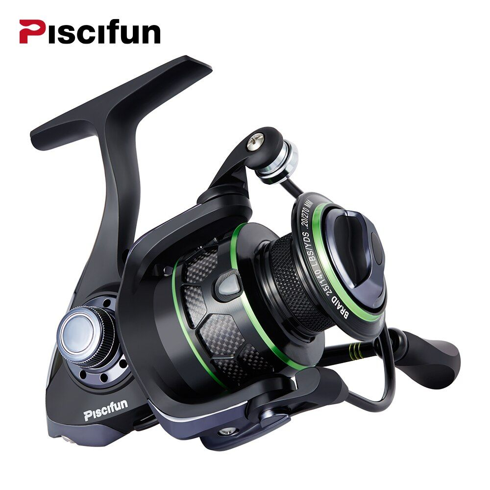 Piscifun Venom Water Resistant Spinning Reel Max Drag 12Kg Carbon Drag 10+1 Bearings Sea Boat Carp Spinning Reel
