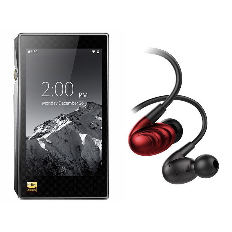 Bundle Sale of FiiO Portable Hi-Res Music Player X5 MKIII With FiiO Triple Driver Hybrid In-Ear Headphone F9SE