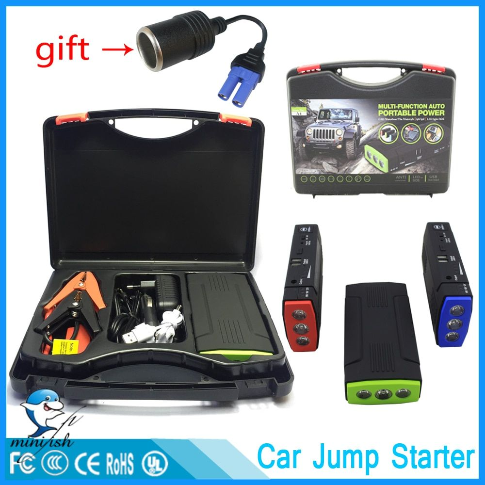 Mini Portable 68000mAh Car Battery Charger Starting Car Jump Starter <font><b>Booster</b></font> Power Bank For A 12V Auto Starting Device