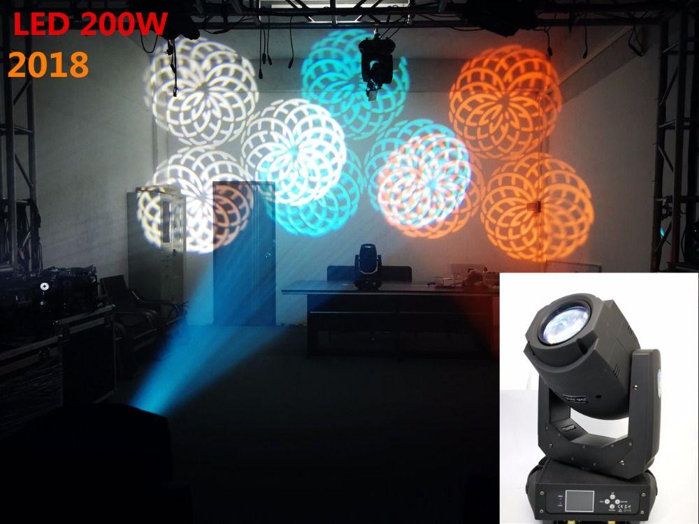 2018 NEUE LED200W 230 Watt Lichtpunkt Waschen 2in1 gobo moving köpfe lichter super helle Für Konzert Licht dj Anzeigen disco licht